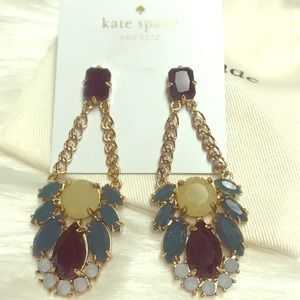 KATE SPADE Colorful Chandelier Earrings